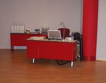Red Desk in Milwaukee
