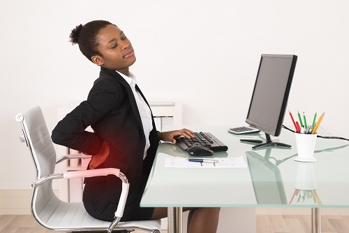Milwaukee Worker Without Standing Desk