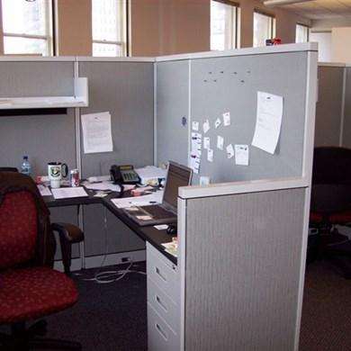 Milwaukee Office Furniture Showcase View Computer