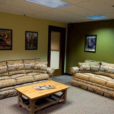 Office Furniture in Franklin Waiting Room