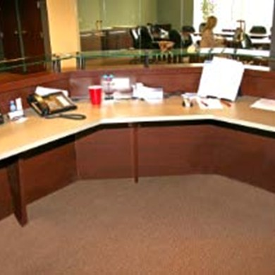 Office Furniture for Waukesha Business Transforms Reception Area
